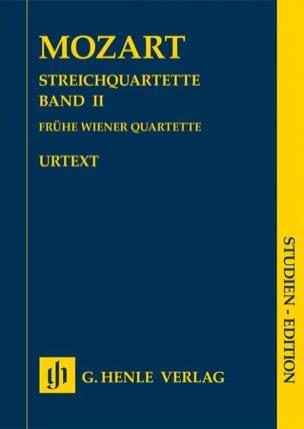 Quatuors à Cordes - Volume 2 MOZART Partition laflutedepan