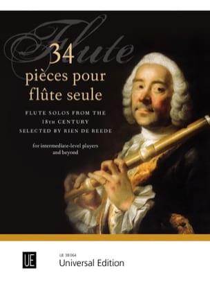 - 34 Pieces for Flute solo - Sheet Music - di-arezzo.com