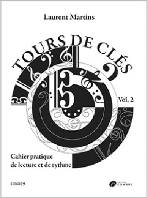 Laurent Martins - Tours de Clés - Volume 2 - Partition - di-arezzo.fr
