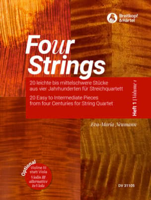 Four Strings - Volume 1 - Partition - di-arezzo.co.uk