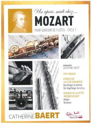 Un après-midi chez.. Mozart MOZART Partition laflutedepan