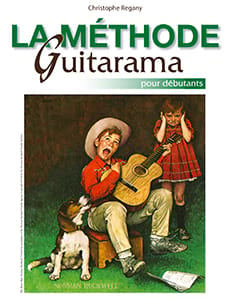 La Méthode Guitarama Partition Guitare - laflutedepan
