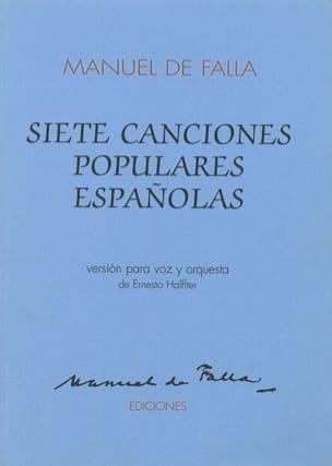 7 Canciones Populares Espanolas - Conducteur laflutedepan
