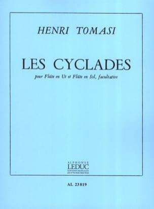 Les Cyclades TOMASI Partition Flûte traversière - laflutedepan