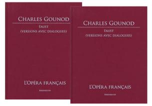 Faust GOUNOD Partition Grand format - laflutedepan