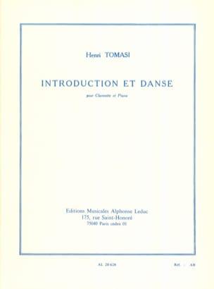 Introduction et Danse TOMASI Partition Clarinette - laflutedepan