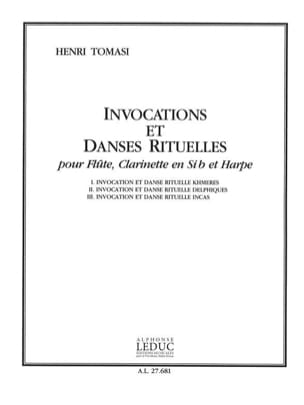 Henri Tomasi - Invocations and Ritual Dances - Sheet Music - di-arezzo.com