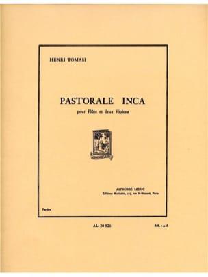 Henri Tomasi - Pastorale inca - Parties - Partition - di-arezzo.fr