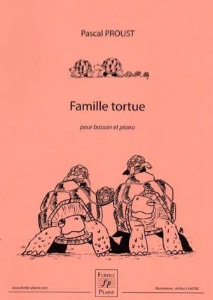 Famille Tortue Pascal Proust Partition Basson - laflutedepan
