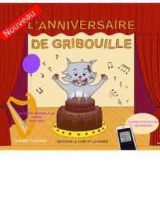 L'anniversaire de Gribouille Isabelle Frouvelle Partition laflutedepan