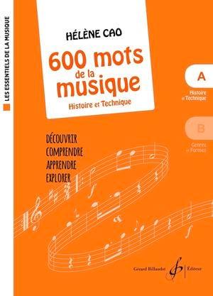 600 mots de la musique - A Hélène Cao Partition laflutedepan