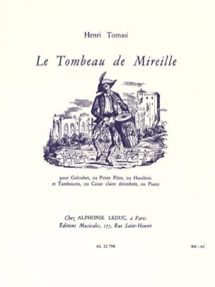 Henri Tomasi - The Tomb of Mireille - Sheet Music - di-arezzo.com