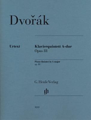 Quintette en La Majeur, opus 81 Antonin Dvorak Partition laflutedepan