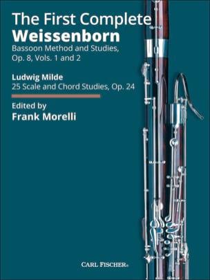 The First Complete Julius Weissenborn Partition Basson - laflutedepan