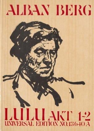 Alban Berg - Lulu - Akt 1-2 - Partition - di-arezzo.co.uk