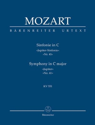 MOZART - Symphony Nr. 41 C-Dur KV 551 Jupiter - driver - Sheet Music - di-arezzo.co.uk