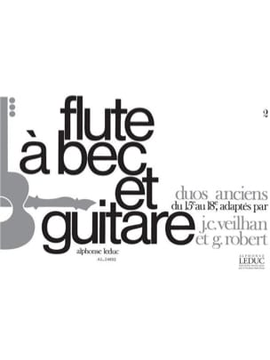 Veilhan Jean-Claude / Robert Guy - Old duets of the 15th and 18th - Sheet Music - di-arezzo.com