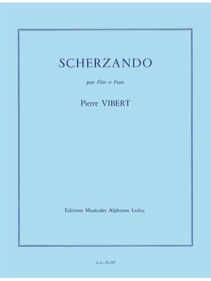Scherzando Pierre Vibert Partition Flûte traversière - laflutedepan