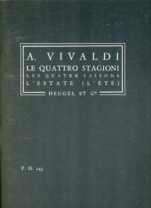 VIVALDI - The quattro stagioni - The inverno - Conductor - Sheet Music - di-arezzo.com