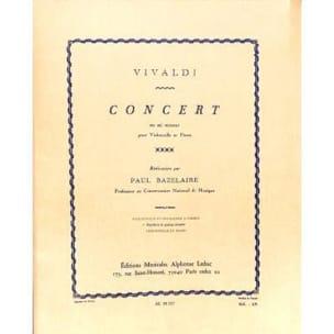 VIVALDI - Concert En Mi Mineur - Partition - di-arezzo.fr