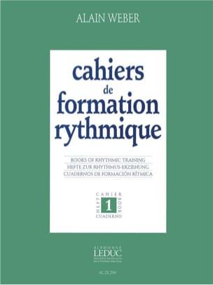 Alain Weber - Rhythmic Workbooks, Volume 1 - Partition - di-arezzo.co.uk