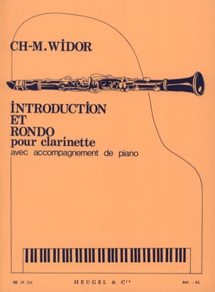Charles-Marie Widor - Introduction et Rondo - Partition - di-arezzo.fr