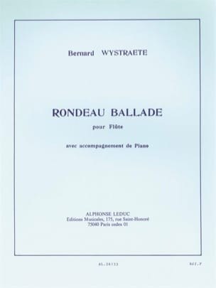 Bernard Wystraete - Rondeau Ballade - Sheet Music - di-arezzo.com