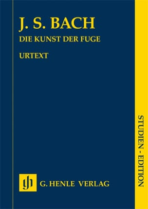 BACH - The Kunst der Fuge für Cembalo Klavier - Sheet Music - di-arezzo.co.uk