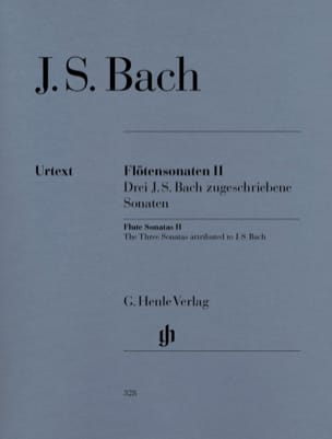 Johann Sebastian Bach - Flute Sonata Volume 2 - Sheet Music - di-arezzo.co.uk