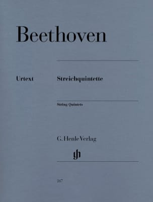 BEETHOVEN - String Quintets - Sheet Music - di-arezzo.com