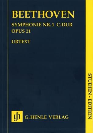 Symphonie no. 1 en Ut majeur op. 21 - BEETHOVEN - laflutedepan.com