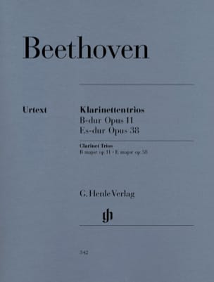 BEETHOVEN - Trios with Clarinet in Bb Maj. op. 11 and Eb Shift. op. 38 - Sheet Music - di-arezzo.co.uk