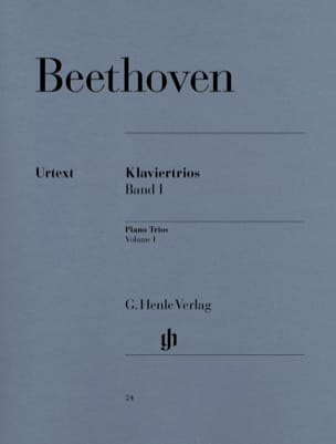 BEETHOVEN - Trios avec piano, volume 1 - Partition - di-arezzo.fr