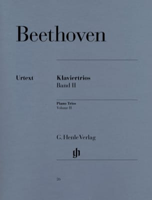 BEETHOVEN - Trios avec piano, volume 2 - Partition - di-arezzo.fr
