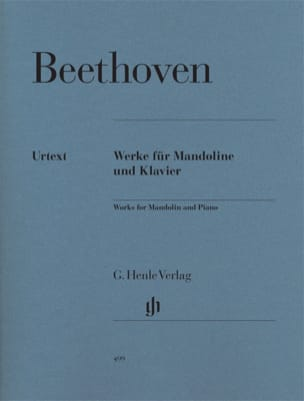 BEETHOVEN - Works for mandolin and piano - Sheet Music - di-arezzo.co.uk