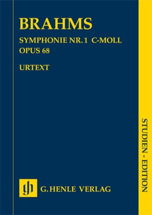 BRAHMS - Symphony No. 1 in C minor op. 68 - Sheet Music - di-arezzo.co.uk