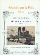 Rêverie et Caprice op. 8 - Flûte piano - BERLIOZ - laflutedepan.com