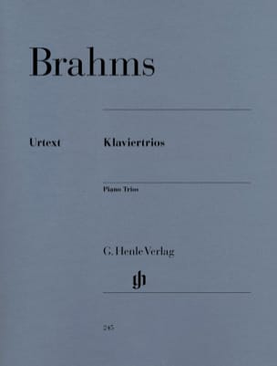 BRAHMS - Trios with piano - Sheet Music - di-arezzo.com