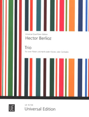 BERLIOZ - Ishmael Trio - 2 Flutes and Harp - Sheet Music - di-arezzo.co.uk
