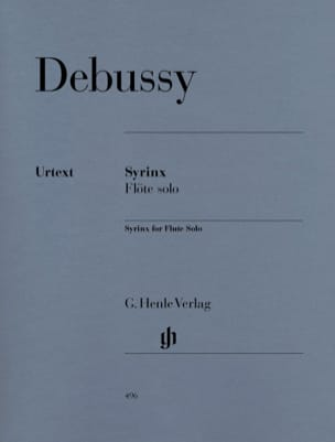 DEBUSSY - Syrinx - Flute Solo - Sheet Music - di-arezzo.co.uk