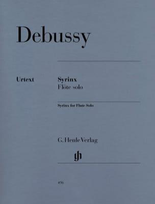 Claude Debussy - Syrinx – Flute Solo - Partition - di-arezzo.fr