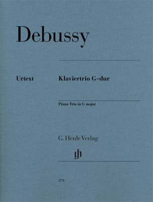 DEBUSSY - Piano Trio in G major - Sheet Music - di-arezzo.co.uk