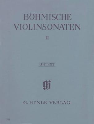Böhmische Violinsonaten, Volume 2 - laflutedepan.com