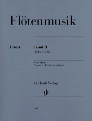 - Musique pour flûte, volume 2 : Préclacissisme - Partition - di-arezzo.fr
