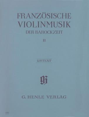 Musique française pour violon de l'époque baroque, volume 2 - laflutedepan.com