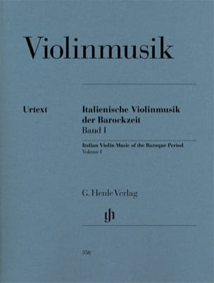 Paul Brainard - Musique italienne pour violon de l'époque baroque, volume 1 - Partition - di-arezzo.fr