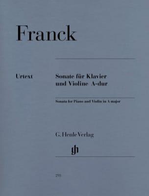 Sonate pour violon en La majeur - César Franck - laflutedepan.com