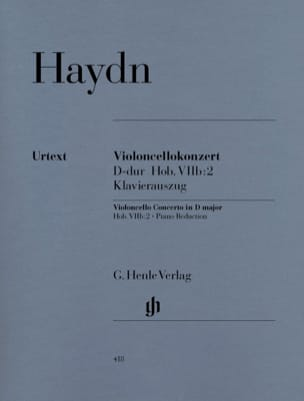 HAYDN - Cello Concerto in D major Hob. VIIb: 2 - Sheet Music - di-arezzo.co.uk