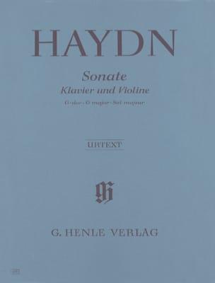 HAYDN - Sonata for violin in G major Hob. XV: 32 - Sheet Music - di-arezzo.co.uk