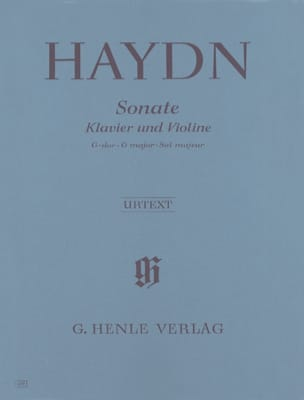 HAYDN - Sonata for violin in G major Hob. XV: 32 - Sheet Music - di-arezzo.com